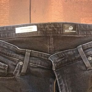 Ag Adriano Goldschmied Jeans - Black distressed jeans